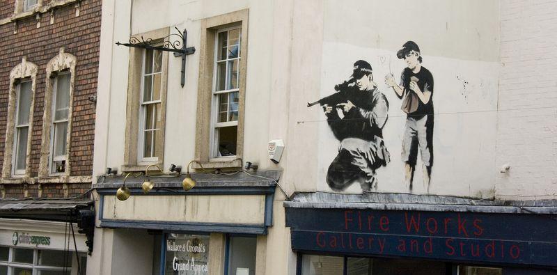 Banksy parkrow