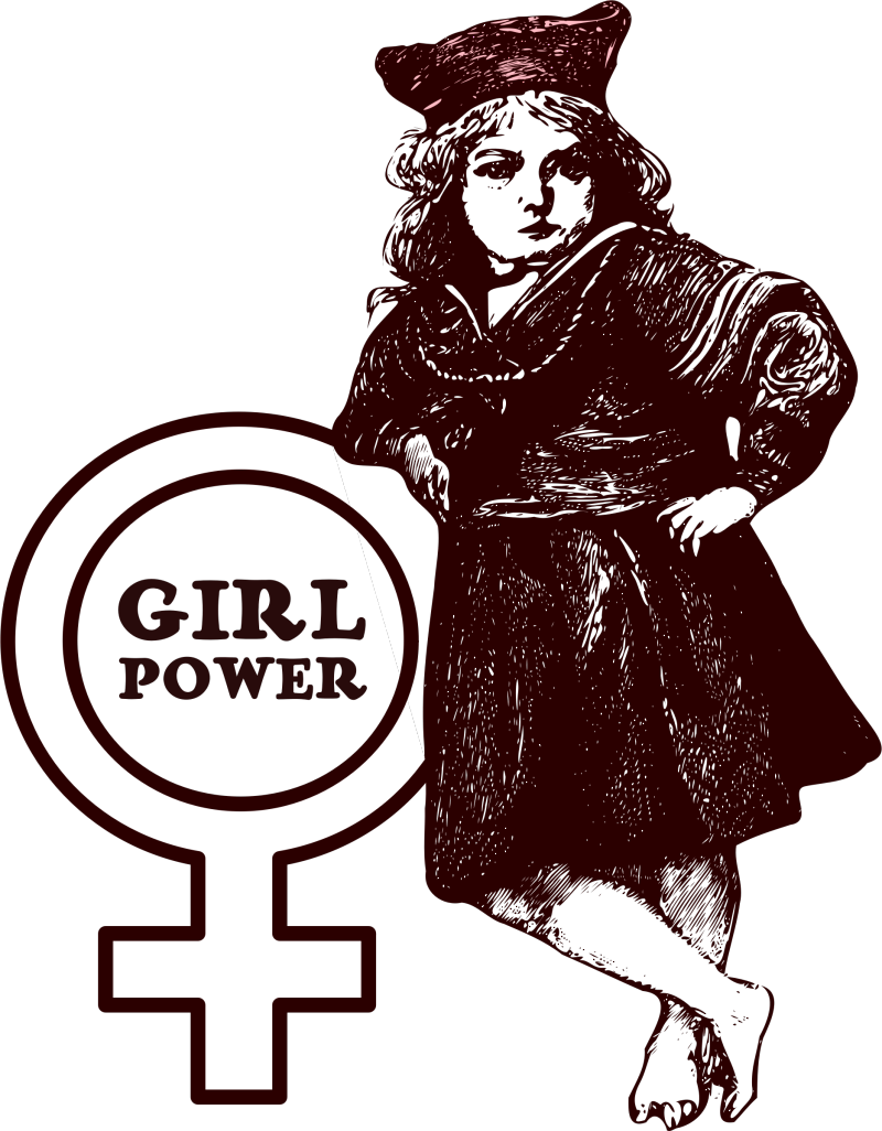Girl-power-vector-clipart