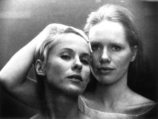 Elisabet & Alma in Bergman's Persona